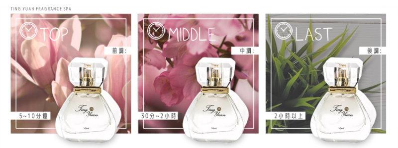 什麼是香水的前調、中調、後調?